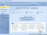 Brother Drivers Update Utility screenshot